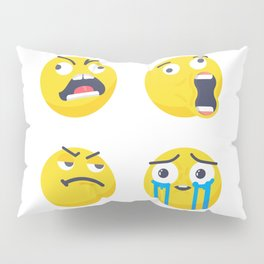 Mem face Pillow Sham