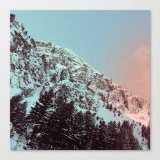 mountain ledge Canvas Print