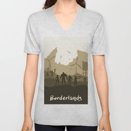 Borderlands Unisex V-Neck