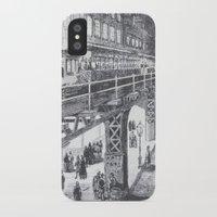 manhattan iPhone & iPod Cases featuring Manhattan by Margo Orlovik