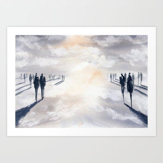 Not Untitled Art Print