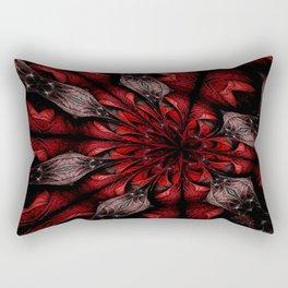 Feeding the Ducks Rectangular Pillow