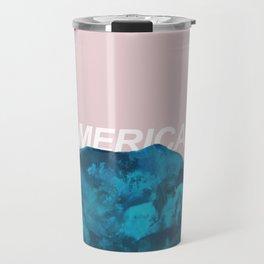 nuevo america Travel Mug