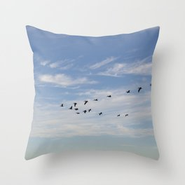 Untitled from Rat Beach series Throw Pillow