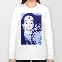 dali Long Sleeve T-shirts featuring Dali  by Danie Enriquez