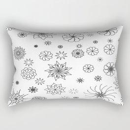 Little Flaky Rectangular Pillow