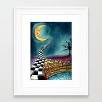 psychedelic Framed Art Prints featuring Psychedelic by Eleni Dreamel