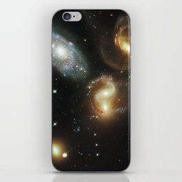 Galactic wreckage iPhone Skin