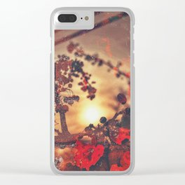 Play of the Game Clear iPhone Case