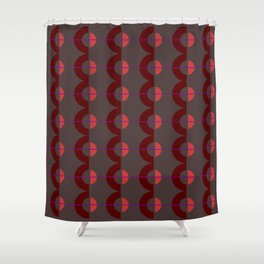 zappwaits graphic Shower Curtain