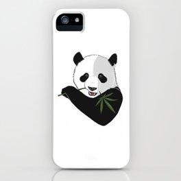 Save The Panda iPhone Case