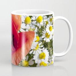 Poppy and the flowers Coffee Mug