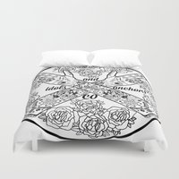 logo Duvet Covers featuring Logo by Dan PeaseIllustration