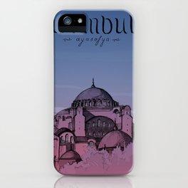 Istanbul - Ayasofya iPhone Case