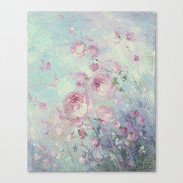 Dancing Petals Canvas Print