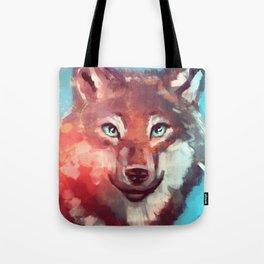 Wolf - Stare - Wanderlust Tote Bag