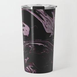 Ruin - Dark Suminagashi Marble Series: 03 Travel Mug