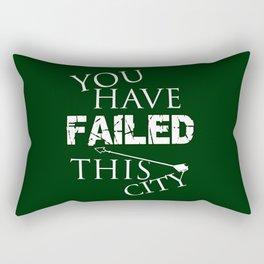 Arrow - You Have Failed This City! Rectangular Pillow