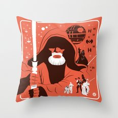 IV (Red) Throw Pillow