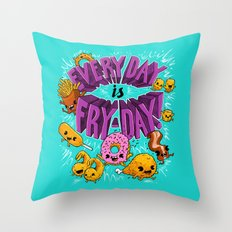 Fry-Day Throw Pillow