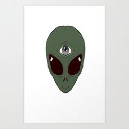 Alienboy Art Print