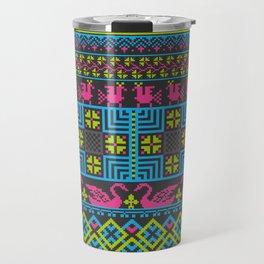 Nu-Arabesque Pattern 2 Travel Mug