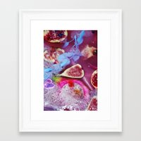 fig Framed Art Prints featuring fig by maisiecousins