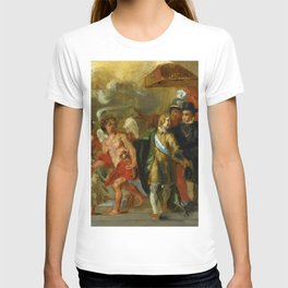 """Eugène Delacroix """"The stage of Archduchess Isabella (After Rubens)"""" T-shirt"""