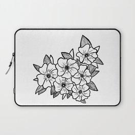 Inked flowers Laptop Sleeve