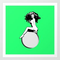 artrave Art Prints featuring artRAVE by Greg21