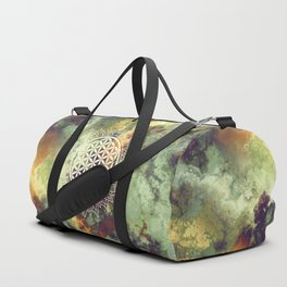 Flower Of Life (Nature's Beauty) Duffle Bag