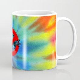 Ghostbusters Psychedelic No Ghost - Tie Dye Shambhala Coffee Mug