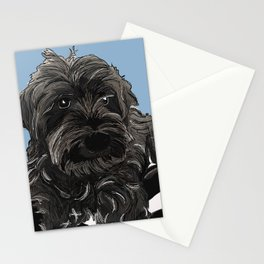 Doug the Schnauzer Stationery Cards