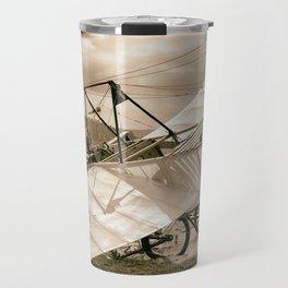 Old Airplane Travel Mug