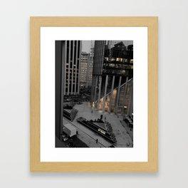 Buried Light Framed Art Print