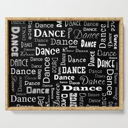 Just Dance! Serving Tray