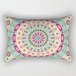 AFE Flower Mandala Rectangular Pillow