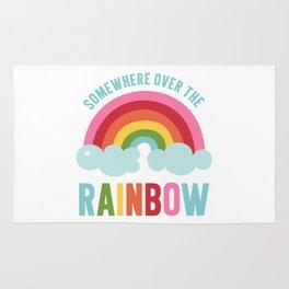 Somewhere Over the Rainbow Rug