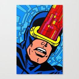Vintage Cyclops Canvas Print