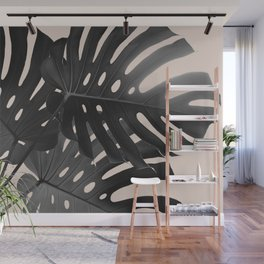 Tropical Monstera Finesse Glam #1 #tropical #decor #art #society6 Wall Mural