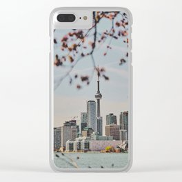 Toronto Views Clear iPhone Case