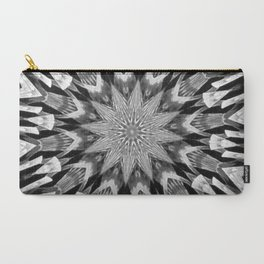 Black-and-White Abstract 57 Carry-All Pouch