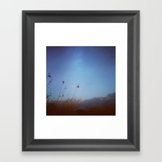 Moonage Framed Art Print