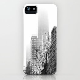 NYC in Fog iPhone Case