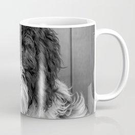 Thoughtful Labradoodle Coffee Mug