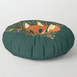 Foxy Heart Floor Pillow