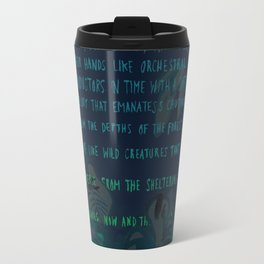 """""""Conquest of the Useless"""" by Werner Herzog Print (v. 4) Travel Mug"""