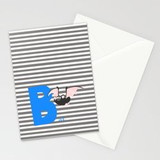 b for bat Stationery Cards