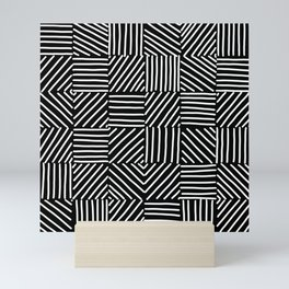 Sketching Abstraction Mini Art Print