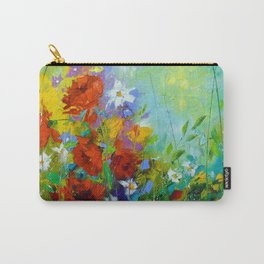Rhythm of summer flowers Carry-All Pouch